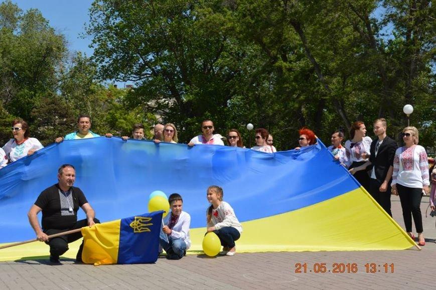 В Бердянске отметили День вышиванки шествием по городу (ФОТОРЕПОРТАЖ), фото-15
