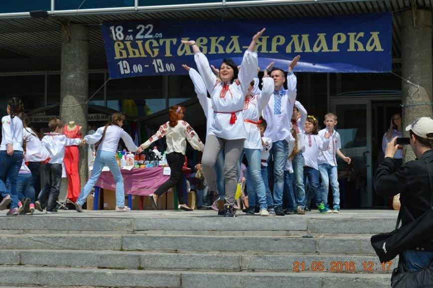 В Бердянске отметили День вышиванки шествием по городу (ФОТОРЕПОРТАЖ), фото-5