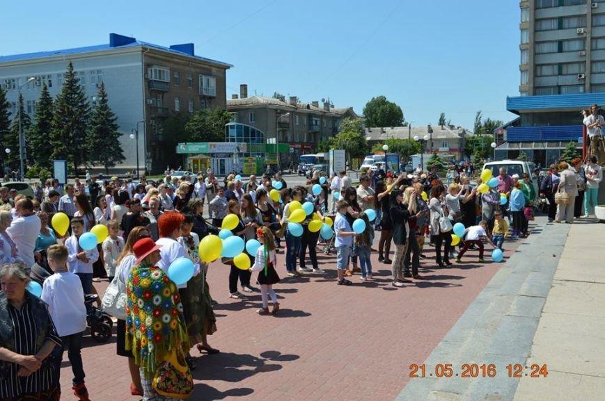 В Бердянске отметили День вышиванки шествием по городу (ФОТОРЕПОРТАЖ), фото-7