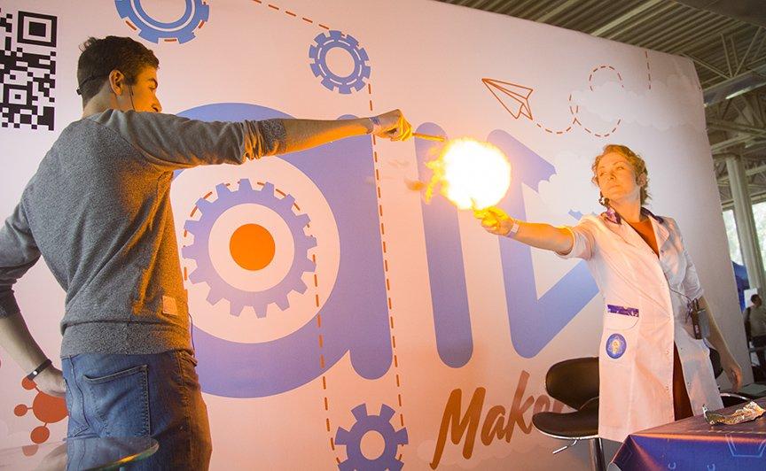 Maker Faire: в Киеве проходит фестиваль технологий, изобретений и экспериментов (ФОТОРЕПОРТАЖ), фото-17