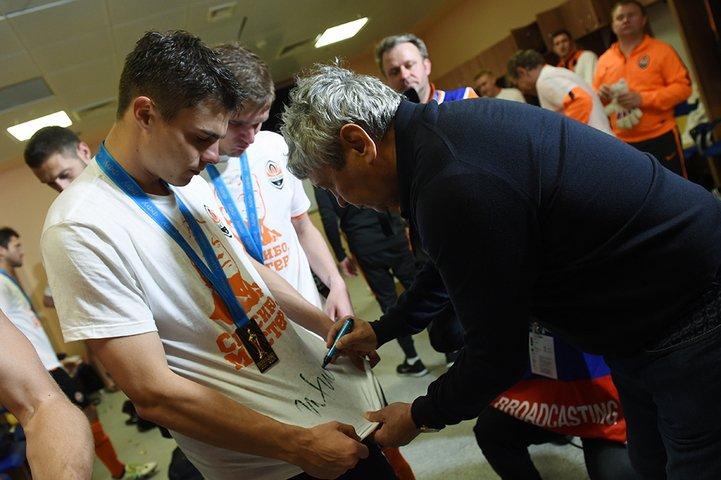 Как «Шахтер» прощался с Луческу (ФОТО), фото-5