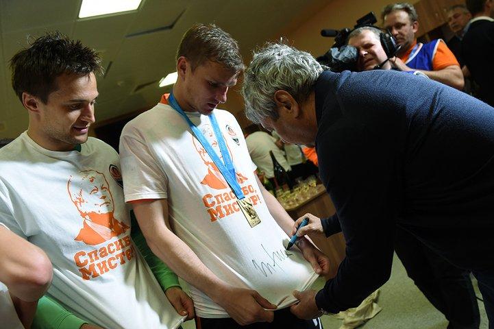 Как «Шахтер» прощался с Луческу (ФОТО), фото-6