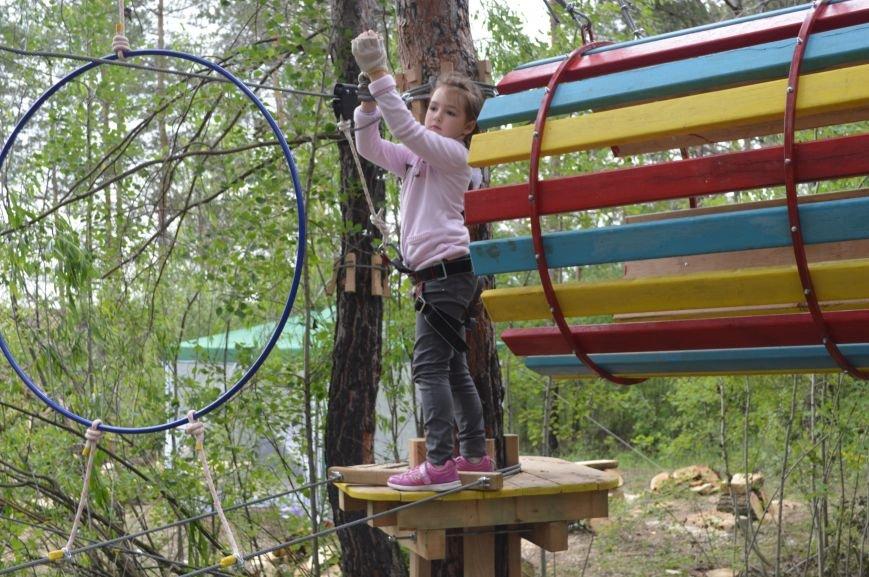 В Северодонецке открылся веревочный парк «Fiesta» (ФОТО), фото-5