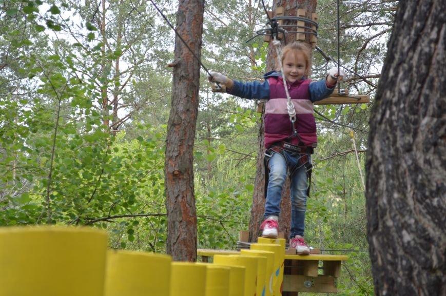 В Северодонецке открылся веревочный парк «Fiesta» (ФОТО), фото-6