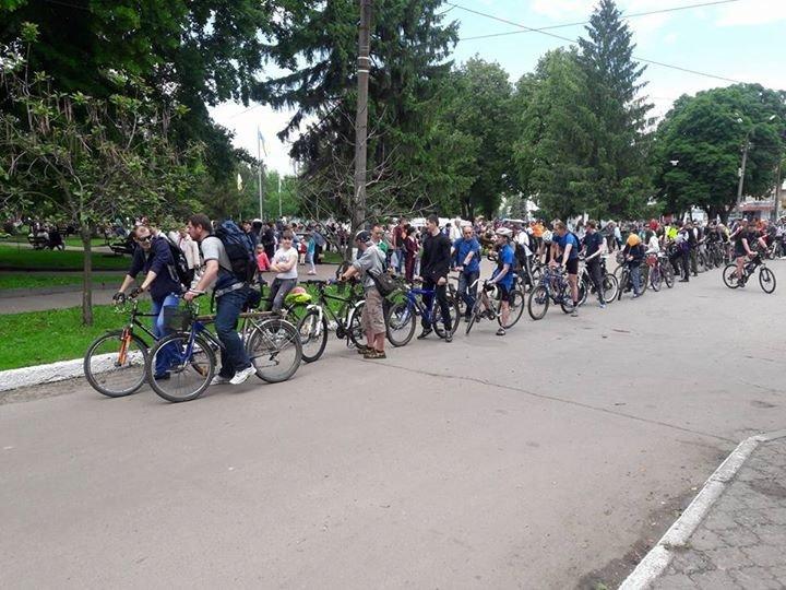 В Конотопі вперше офіційно відбувся «Велодень»(ФОТО), фото-1