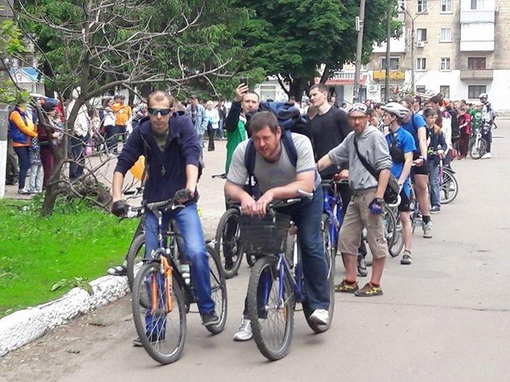 В Конотопі вперше офіційно відбувся «Велодень»(ФОТО), фото-3