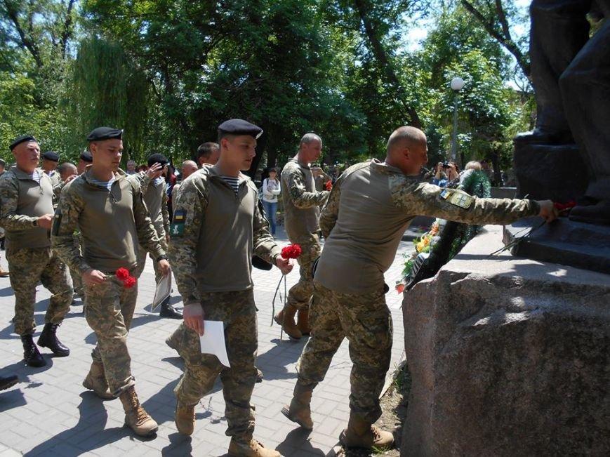Морские пехотинцы в Бердянске приняли воинскую присягу, фото-8