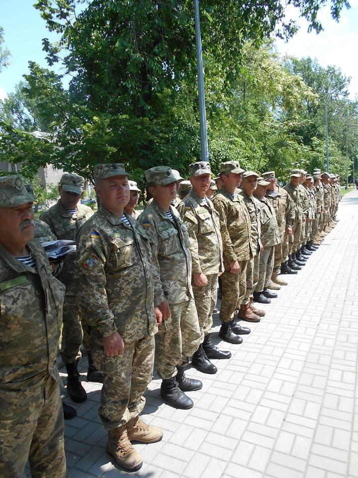 Морские пехотинцы в Бердянске приняли воинскую присягу, фото-1