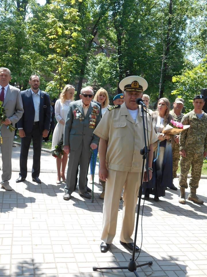 Морские пехотинцы в Бердянске приняли воинскую присягу, фото-7