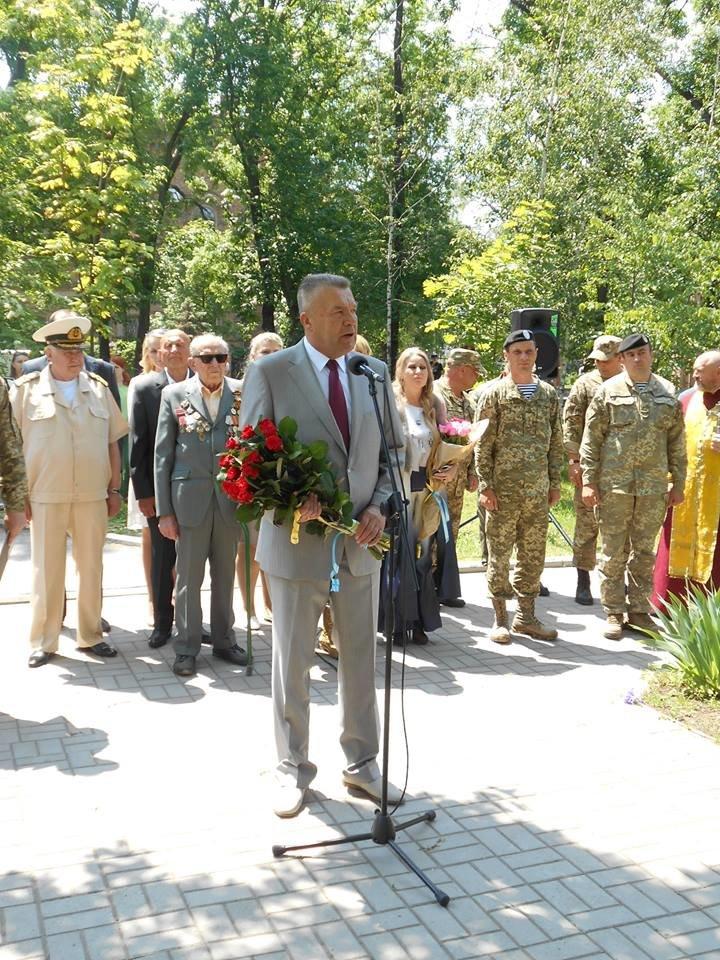 Морские пехотинцы в Бердянске приняли воинскую присягу, фото-4