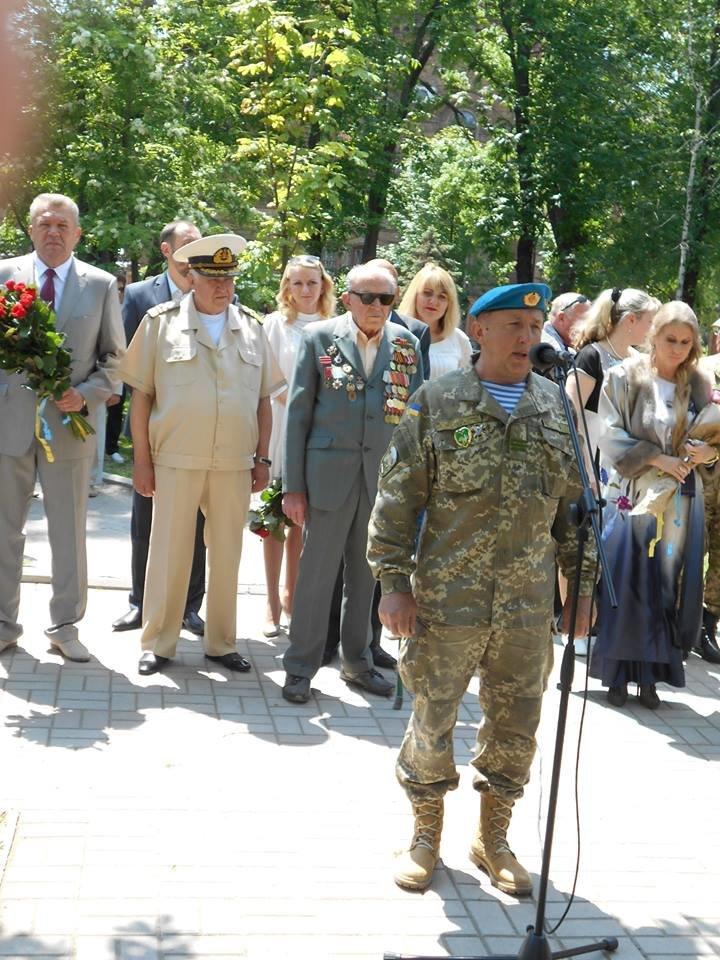 Морские пехотинцы в Бердянске приняли воинскую присягу, фото-6