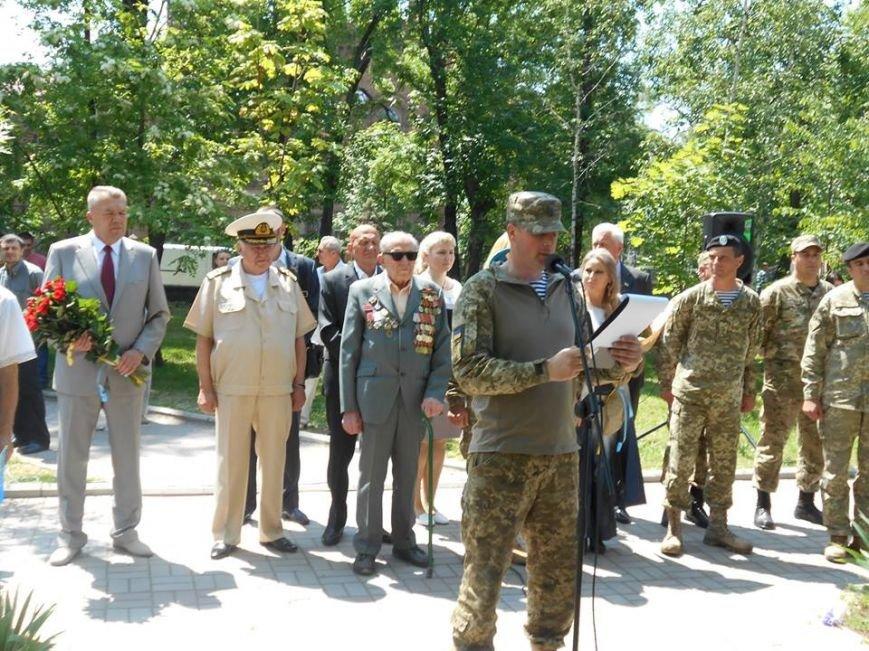Морские пехотинцы в Бердянске приняли воинскую присягу, фото-2