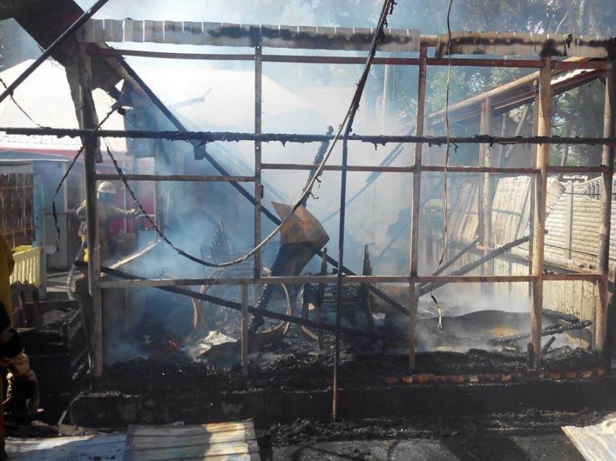 В поселке под Мелитополем горело кафе, фото-2