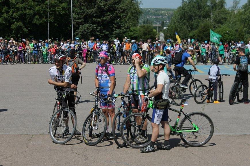 В Краматорске состоялся велодень, фото-5