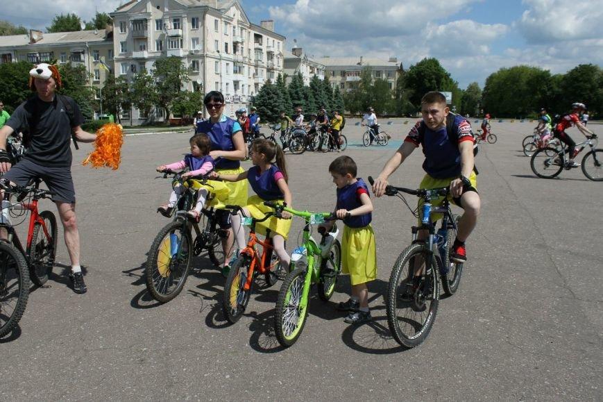 В Краматорске состоялся велодень, фото-2