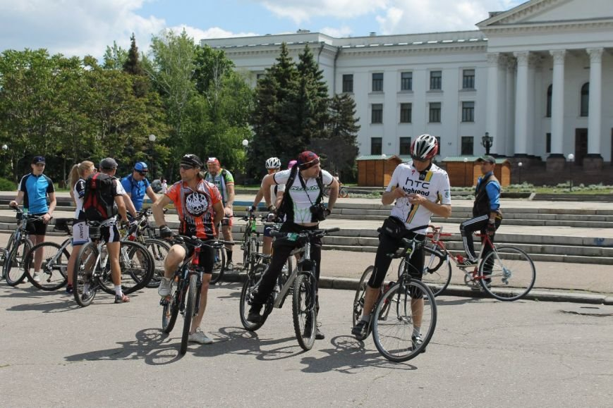 В Краматорске состоялся велодень, фото-1