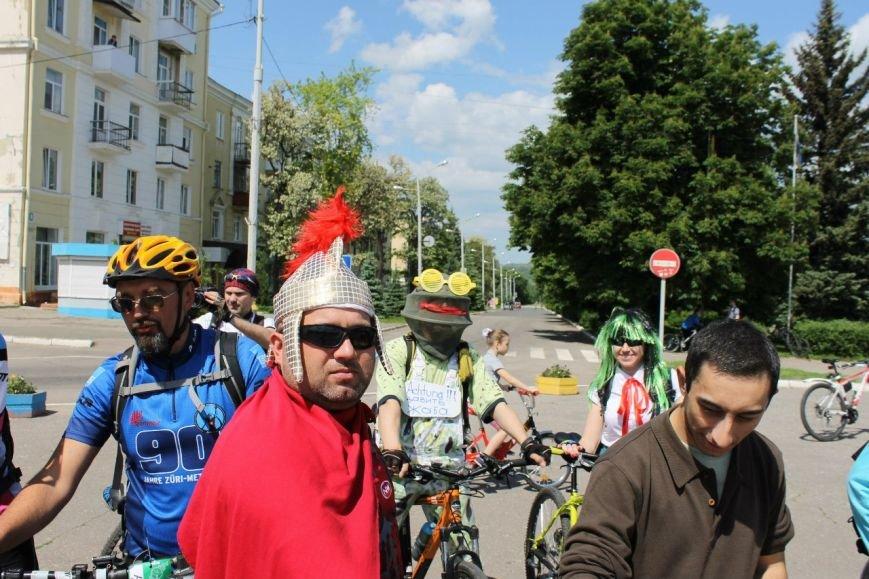 В Краматорске состоялся велодень, фото-4