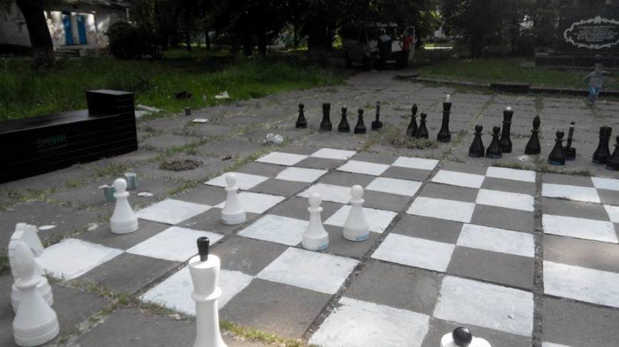 У Білій Церкві з'явилися вуличні шахи (фото), фото-2
