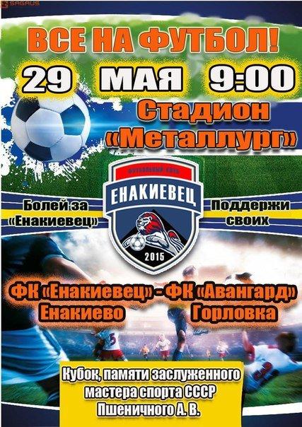 Приглашает ФК «Енакиевец». Поддержите свою команду!, фото-1