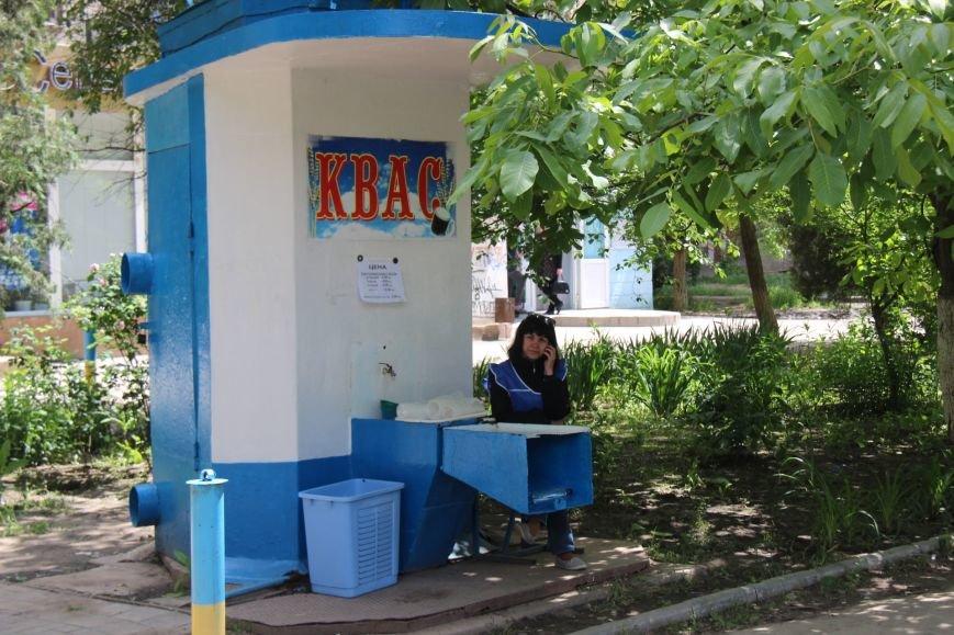 В Херсоне уже начали продавать квас (фото), фото-1