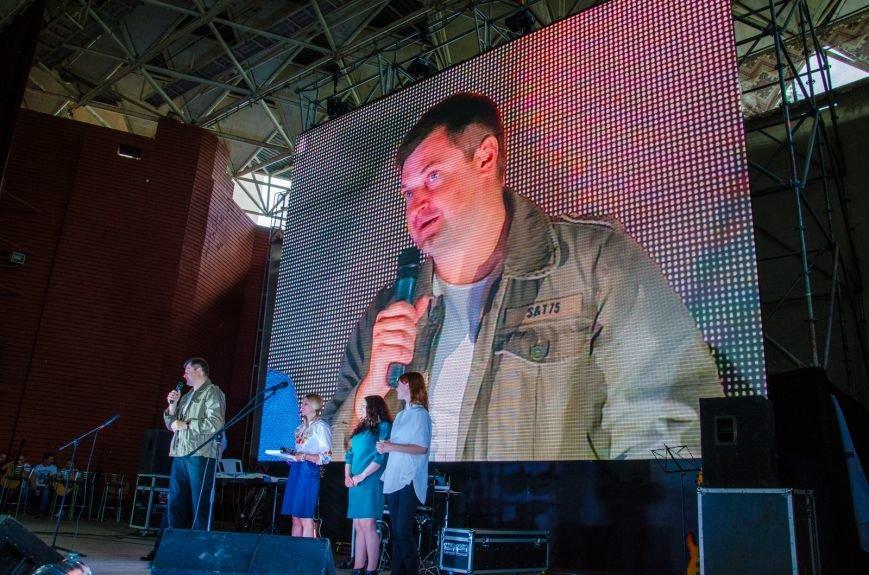 """Группа из Каменского """"Silver Town"""" выступила на фестивале """"Песни, рожденные в АТО"""", фото-2"""