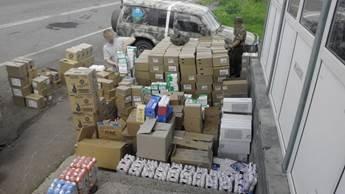 """До """"ДНР"""" не доехали три тонны духов и бытовой косметики (ФОТО, ВИДЕО), фото-2"""