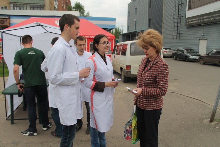 В Краматорске проверяют сахар в крови, фото-1