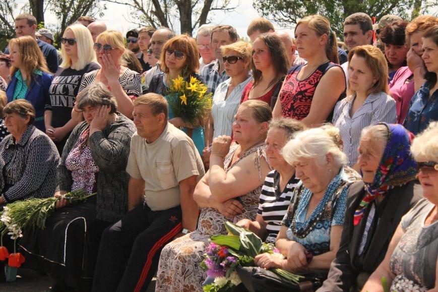 Герои не умирают - открытие памятника погибшим бойцам украинской армии, фото-4