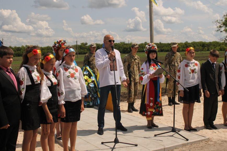 Герои не умирают - открытие памятника погибшим бойцам украинской армии, фото-1