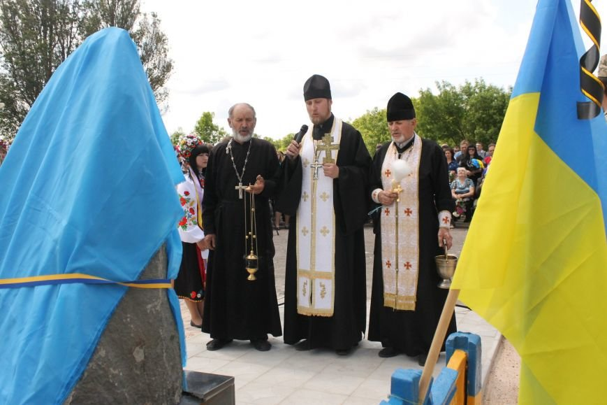Герои не умирают - открытие памятника погибшим бойцам украинской армии, фото-3