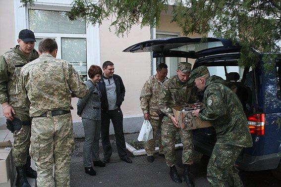 Бойцов спецбатальона «Чернигов» наградили медалями в Мариуполе, фото-2
