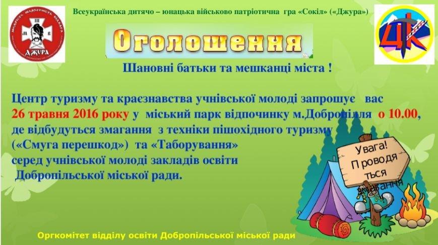В Добропольском городском парке состоятся соревнования, фото-1