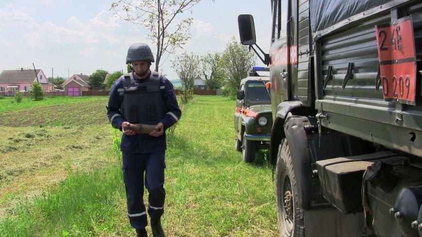 На Буковині знешкодили два вибухонебезпечні предмети, фото-1