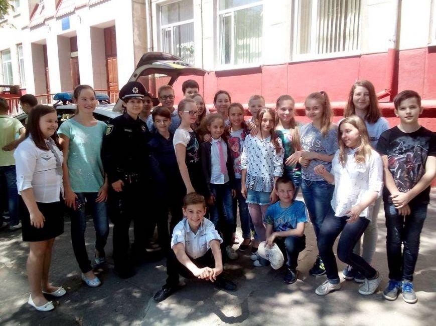 Херсонские патрульные рассказали школьникам о буллинге и о том, как ему противостоять (фото), фото-1