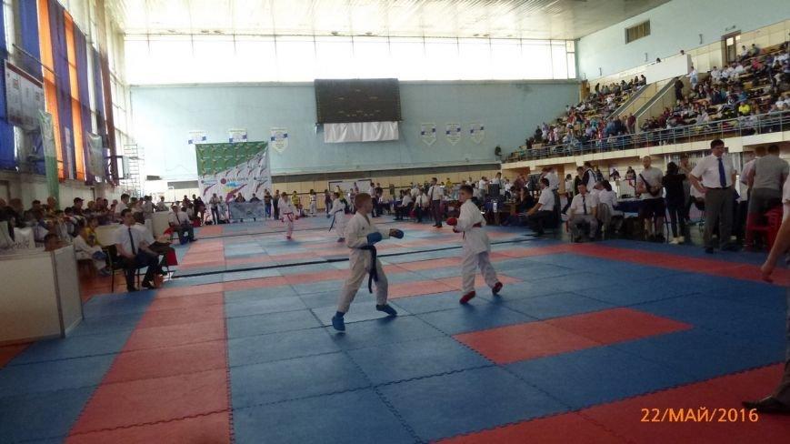 Ребята из Бердянского клуба каратэ «Дзаншин» выступили на международном турнире в Киеве, фото-4
