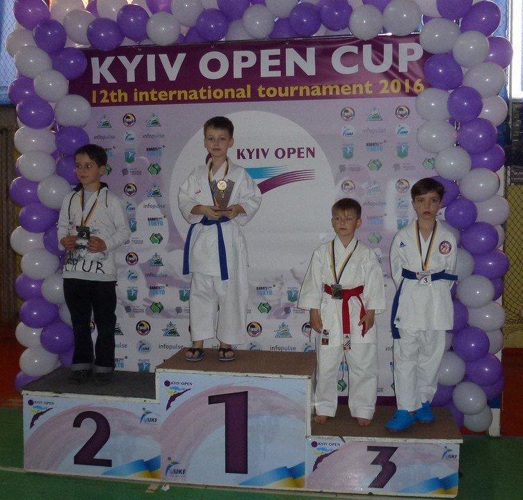 Ребята из Бердянского клуба каратэ «Дзаншин» выступили на международном турнире в Киеве, фото-2