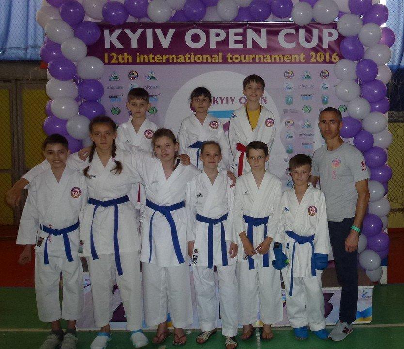 Ребята из Бердянского клуба каратэ «Дзаншин» выступили на международном турнире в Киеве, фото-3