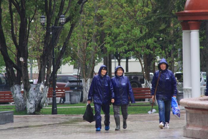 В Южно-Сахалинске идут дожди..., фото-11