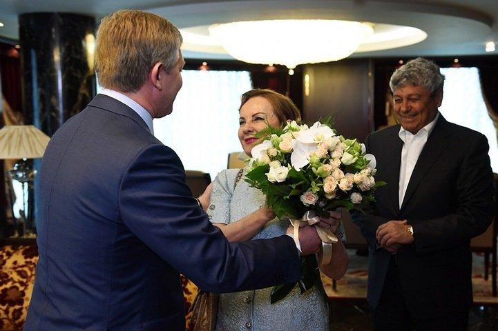 Ахметов встретился с Луческу и пообещал, что Мистер выведет «Шахтер» на «Донбасс Арену» (ФОТО), фото-1