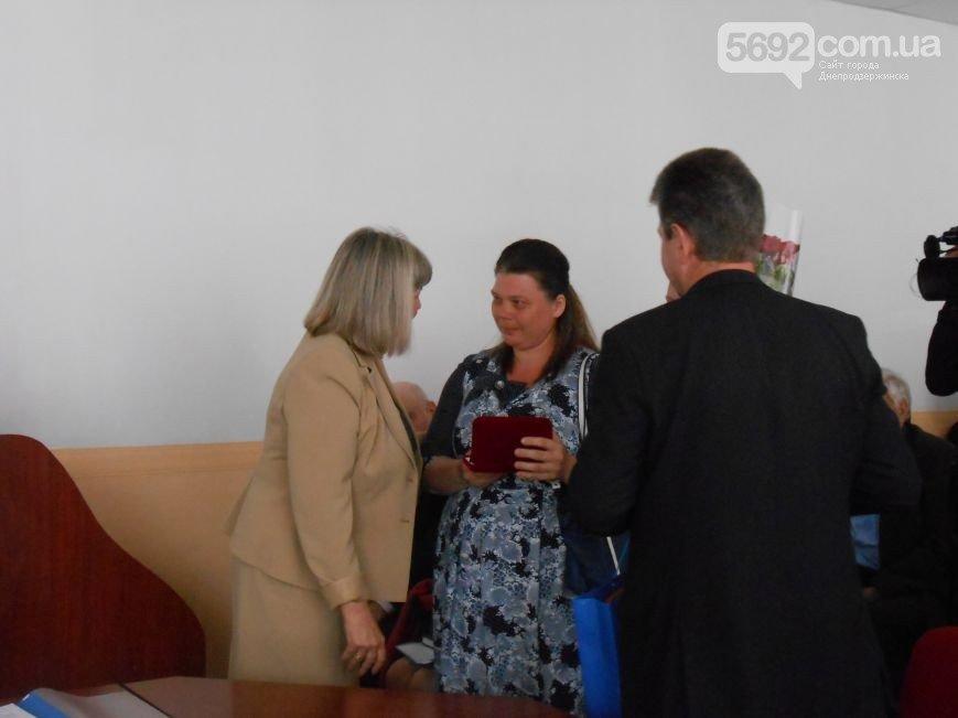 В Каменском наградили мать-героиню и участников ликвидации аварии на ЧАЭС, фото-1