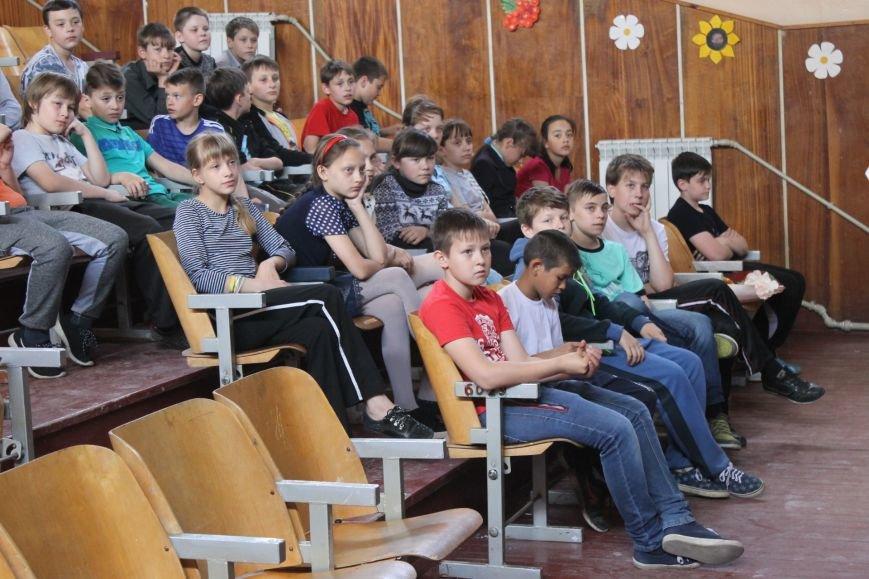 """""""Энергетика детям"""" - в школах Доброполья проводятся уроки по энергобезопасности, фото-2"""