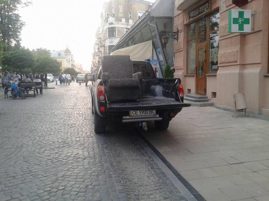 Паркування по-чернівецьки або де залишають машини чернівецькі водії, фото-9