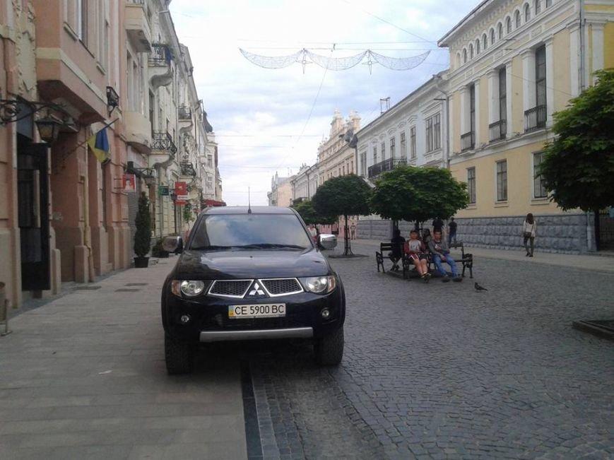 Паркування по-чернівецьки або де залишають машини чернівецькі водії, фото-8