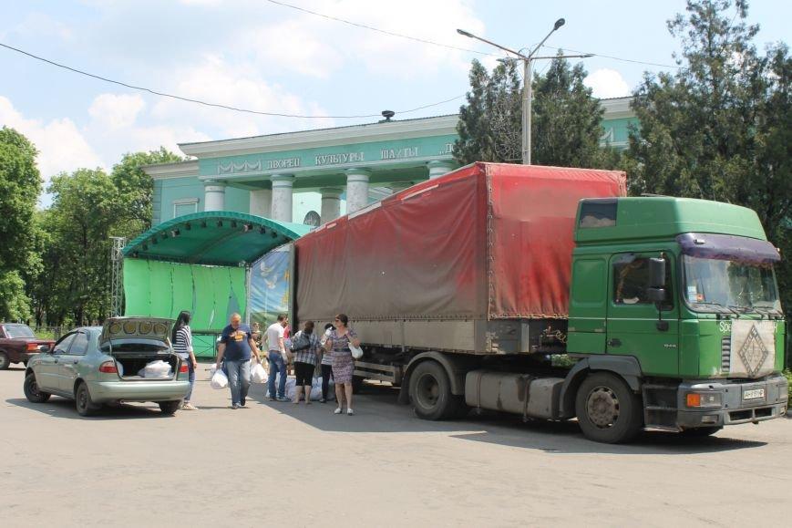 Сегодня в Доброполье состоялась выдача гуманитарной помощи, фото-1