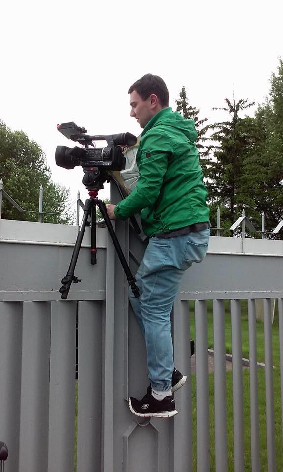 Украинские журналисты встречают Надежду Савченко (фото), фото-3