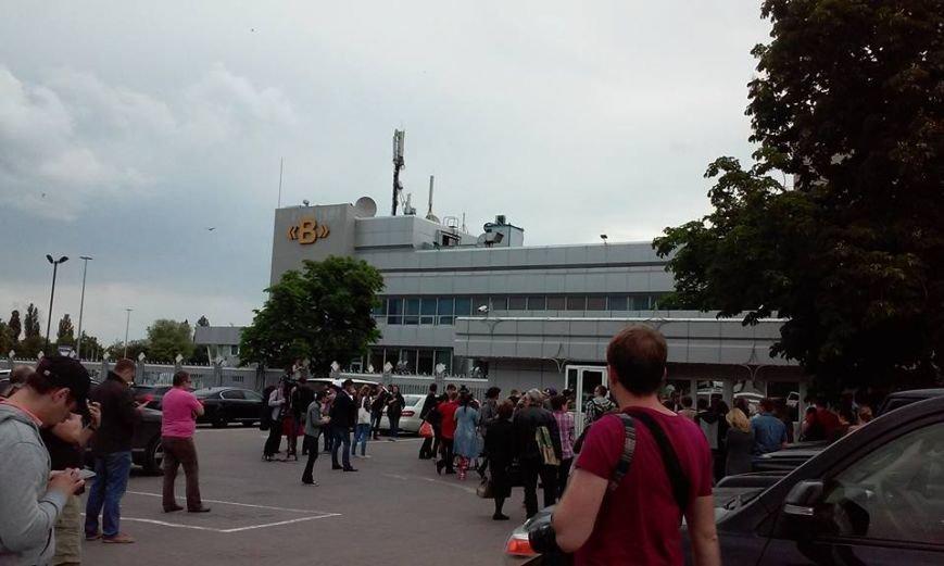 Украинские журналисты встречают Надежду Савченко (фото), фото-2