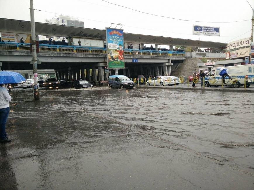В Киеве ожидается град и шквалы ветра до 15-20 м/с, фото-1