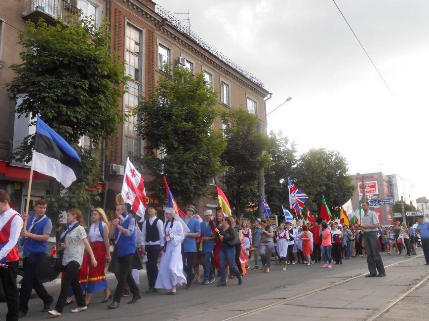 Закрытие Х фестиваля «Классика сегодня»: в Каменском состоялось карнавальное шествие, фото-10