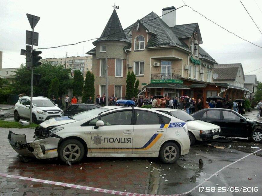 ДТП за участю патрульного авто(ФОТО), фото-1