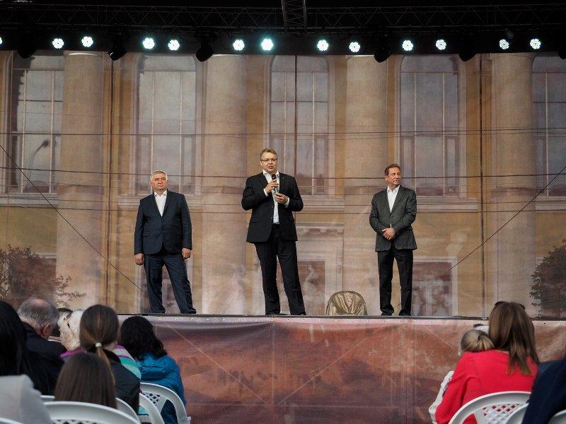 Межрегиональный форум творческих союзов «Белая акация» открылся в краевом центре, фото-3
